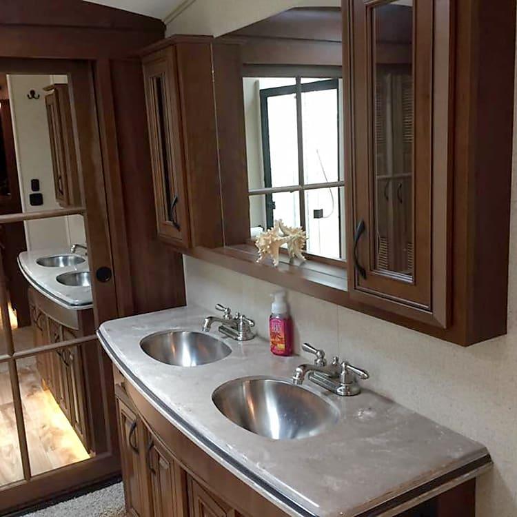 Bedroom Double Lavatory Vanity