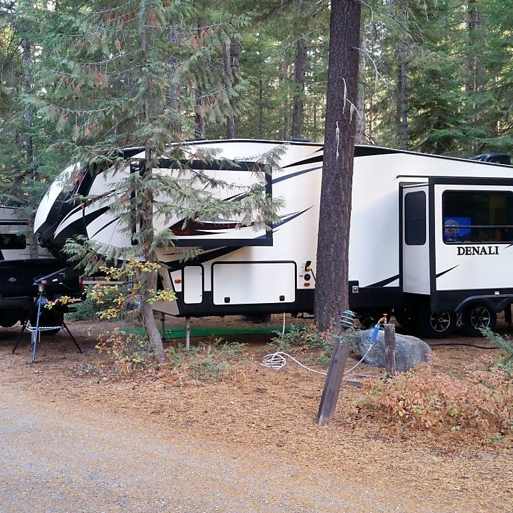 Camping at Leavenworth, WA