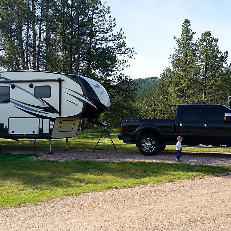 Camping in South Dakota!!