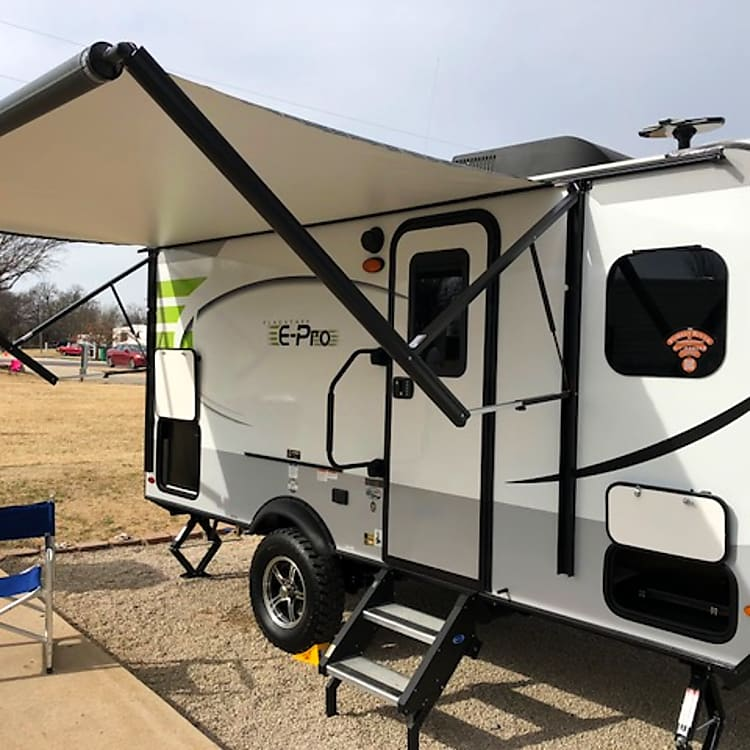 Awesome powered awning