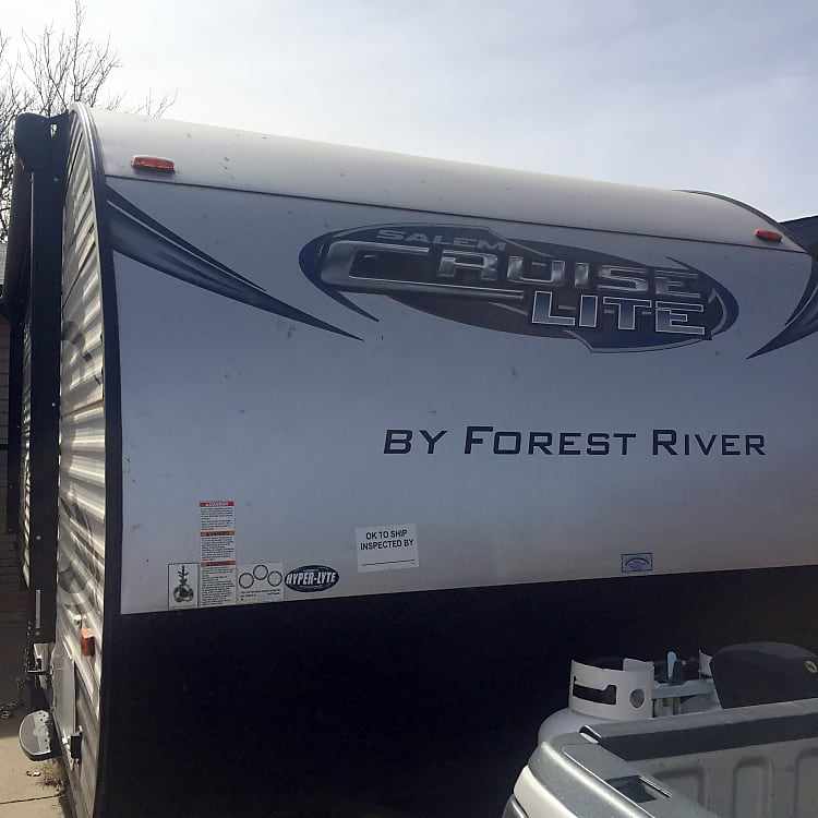 Front view of the trailer.