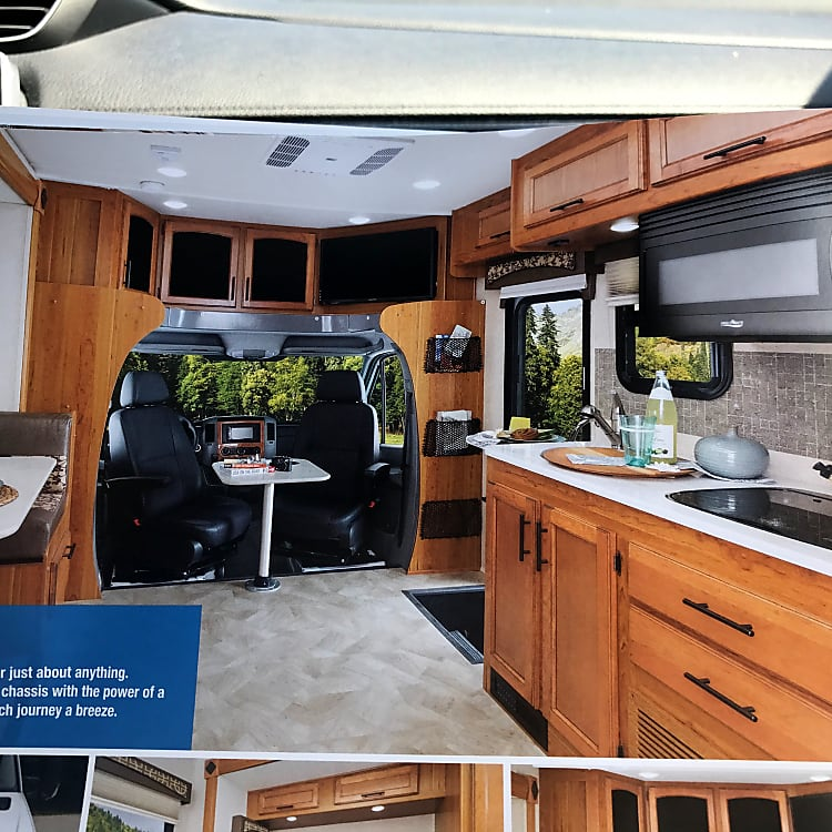 Overall Floor plan, Jayco picture.