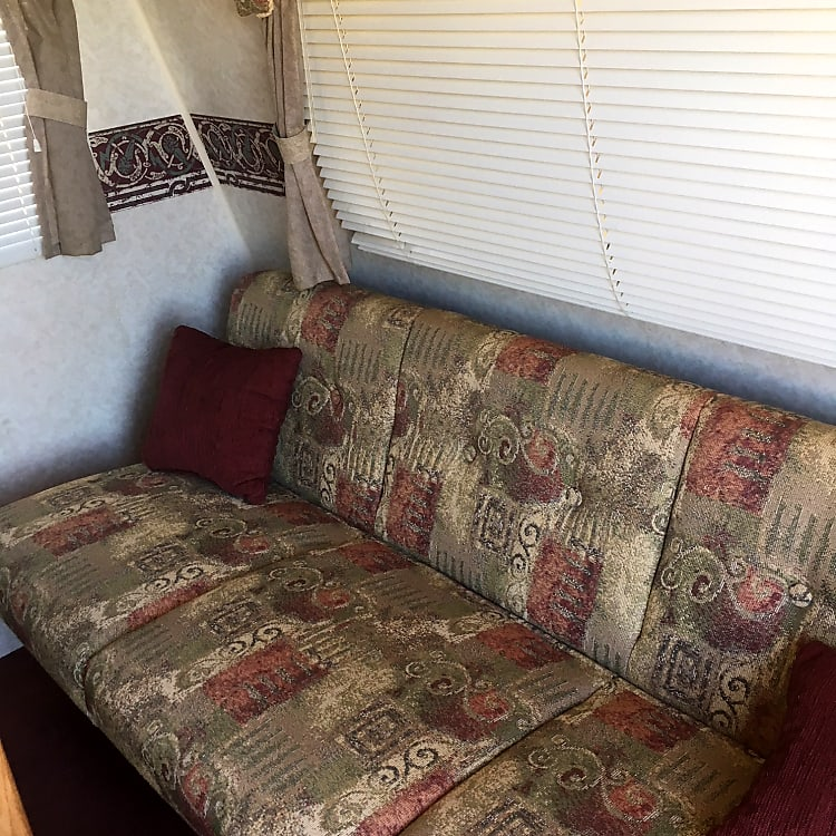 fold down couch sleeps two