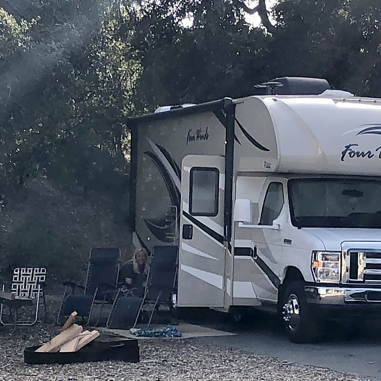 Camping at oak park April 10-14 2018