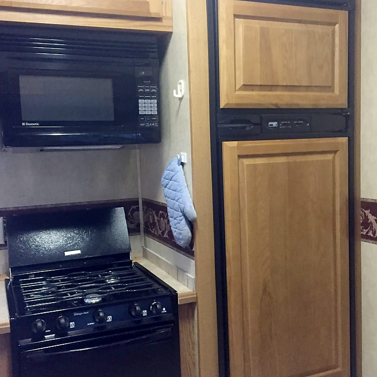 full size fridge and freezer