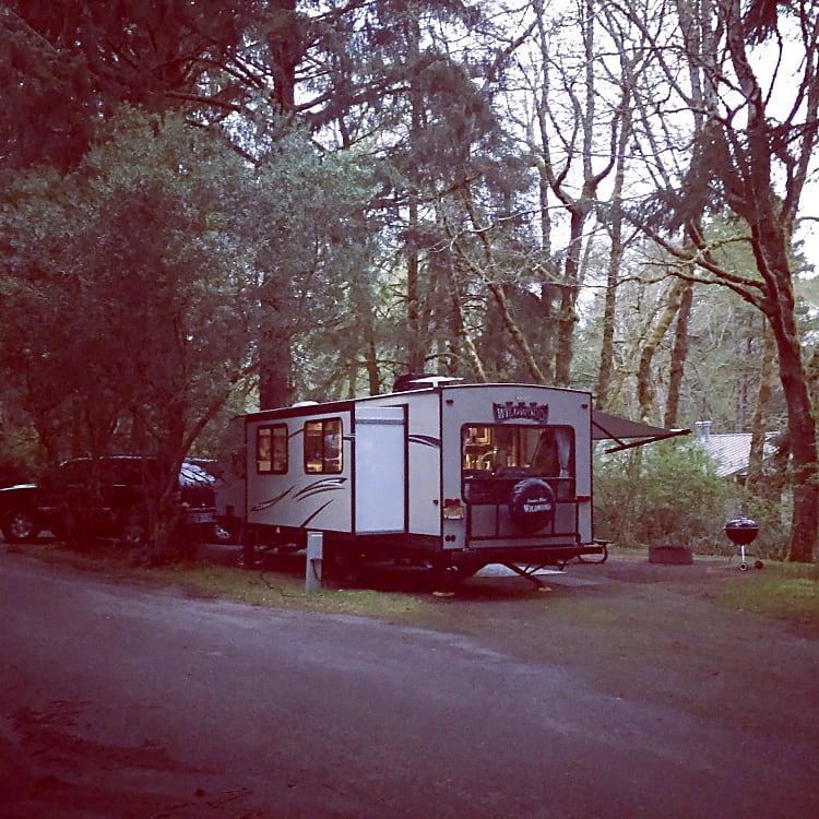 All set up for you at Fort Stevens State Park in Oregon
