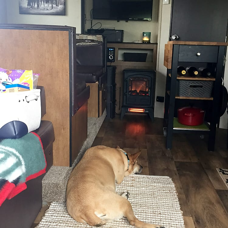 Pet friendly and ready for windy adventures and cozy afternoons inside.