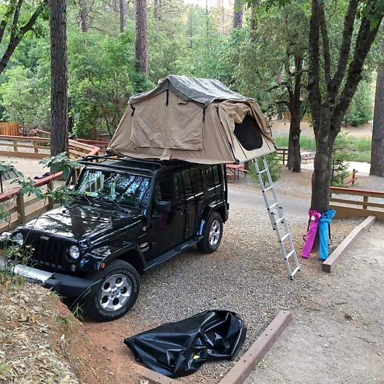 Roughing it, but above ground