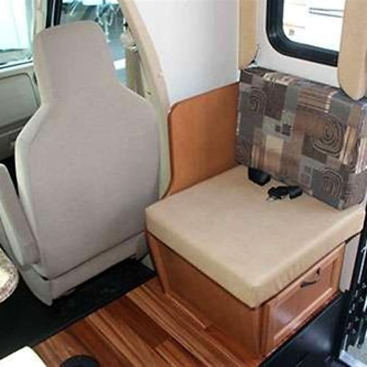 extra seat for longer couch with storage underneath