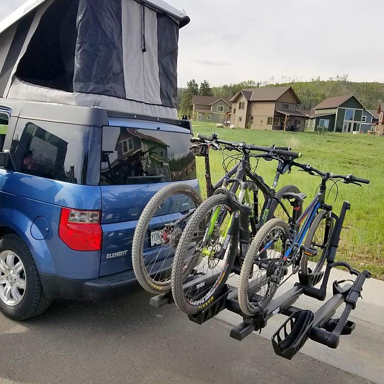 4 bike rack.