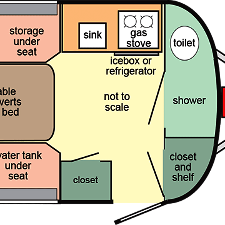 This model does NOT include a shower.