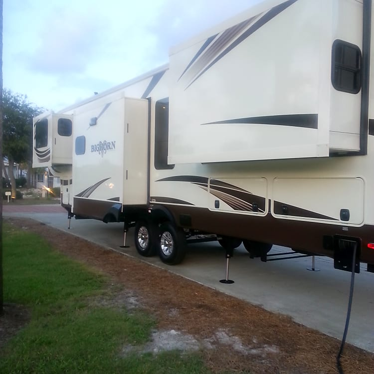 We will deliver to Panama City Beach RV Resort and do all setups!