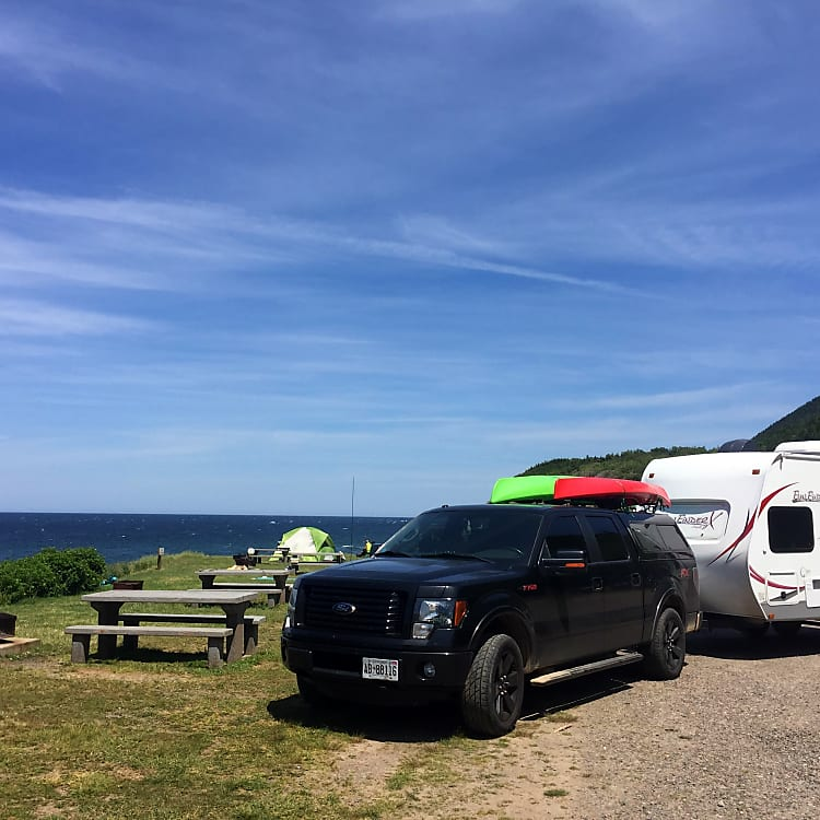 Easy to tow anywhere.