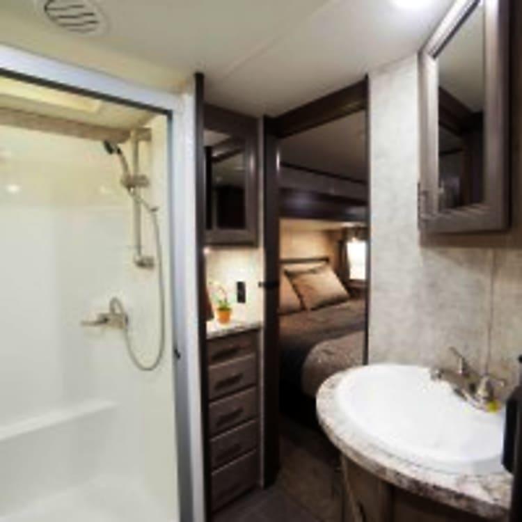Full size Large shower