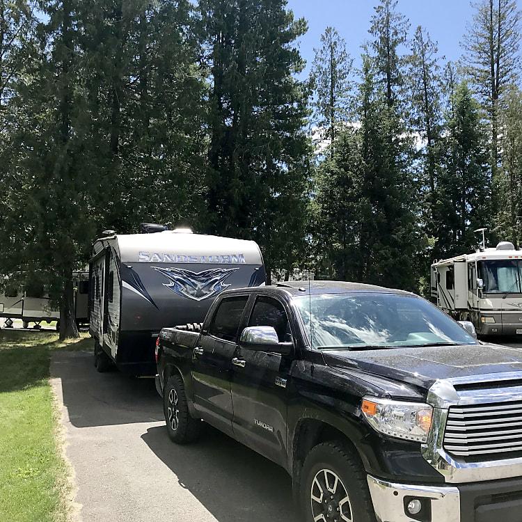 Truck needs a bath!