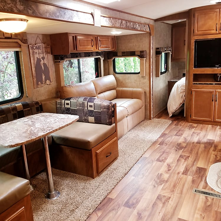Dinning and full sleeper pull out sofa
