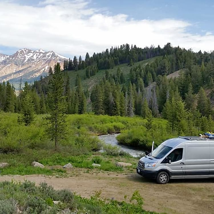 Idaho, Sun Valley. Possibly the best campsite, ever.