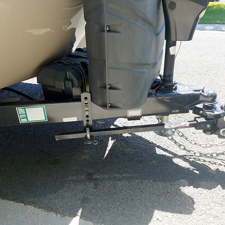 Sway bar and hitch included in rental