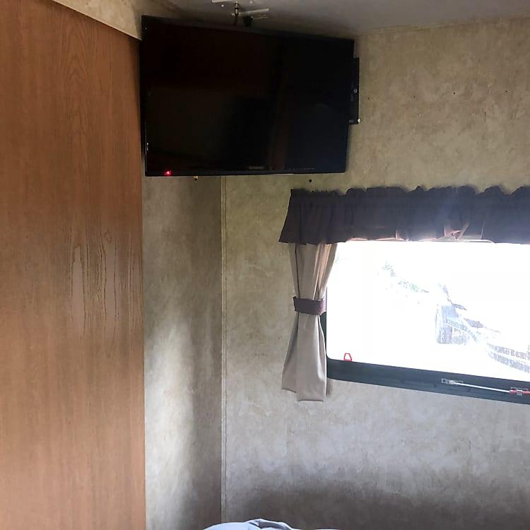 27 Inch Tv in the master bedroom