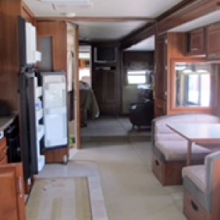 Front to back of RV