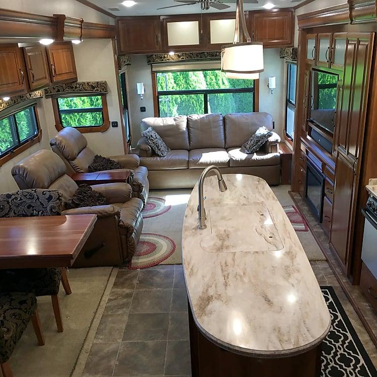 Beautiful and spacious!
