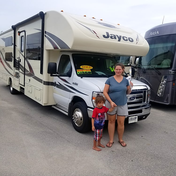 Our family loves our new RV and we hope that you will too!!