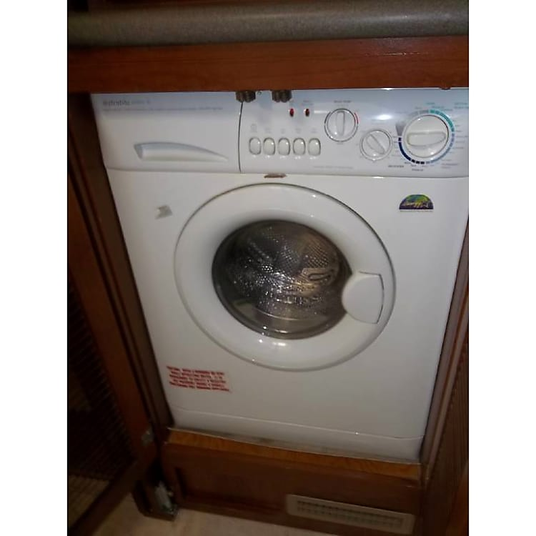 Front loading washer and dryer in one!