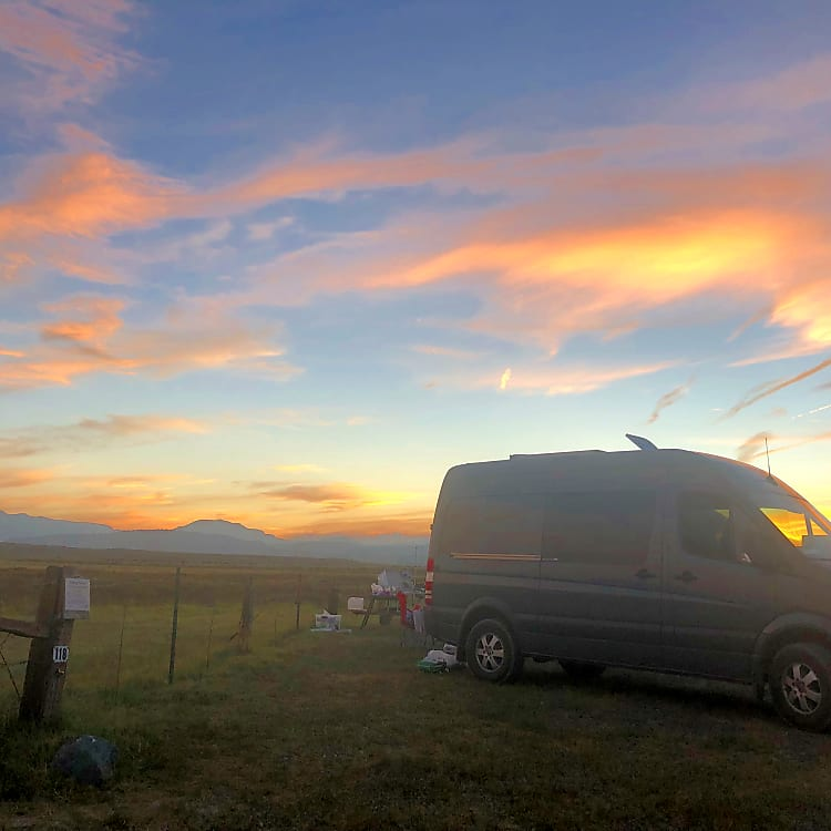 This van has a habit of creating magical sunsets!