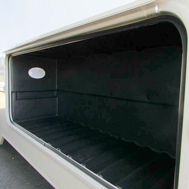 1 of 2 exterior storage