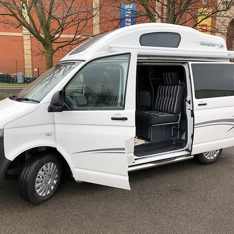 Winnie our 4 Berth Vivante VW T5 Camper.