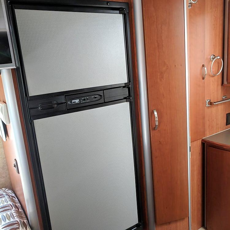 fridge plus an actual freezer