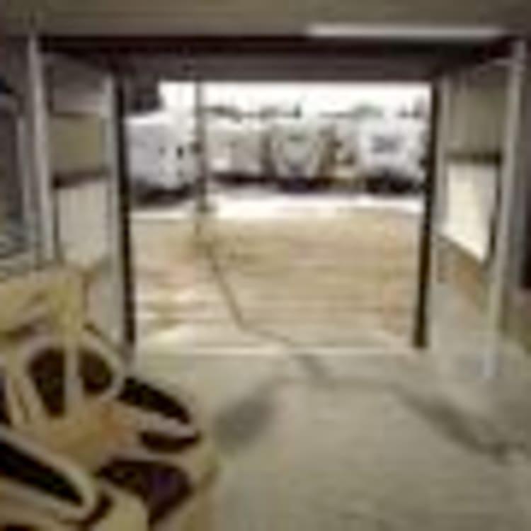Rear Carport/Loading Area
