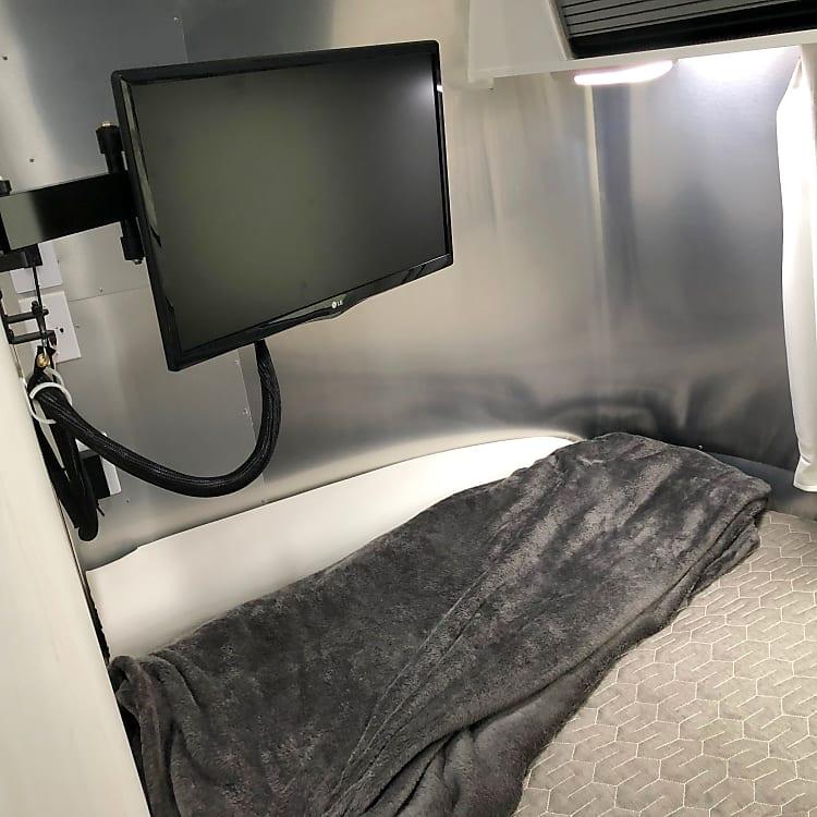 tv in bed
