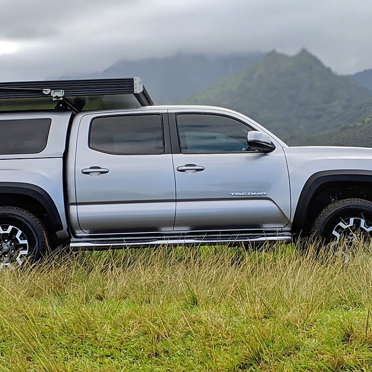 2018 Toyota Tacoma TRD Off Road with a GFC Rooftop Tent