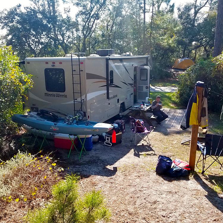 Guys trip to Big Lagoon State Park, FL