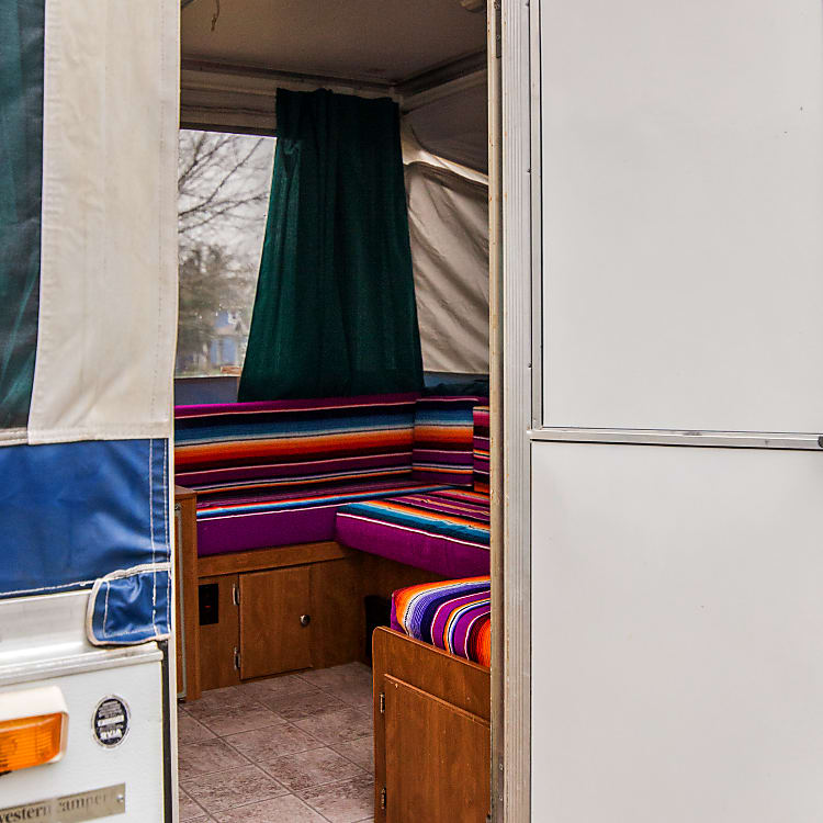 A look inside this super spacious pop-up!