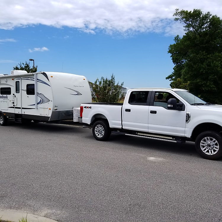 We deliver to the campsite you rented so you don't have to worry about hauling a large camper!