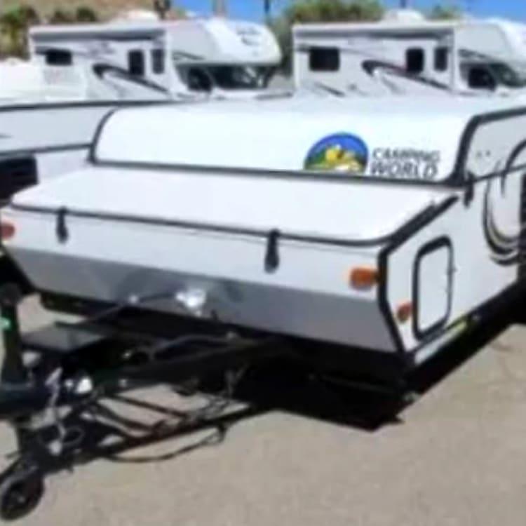 2014 Coachmen Viking Tent Trailer