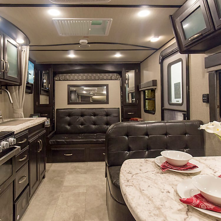 Very spacious interior and galley
