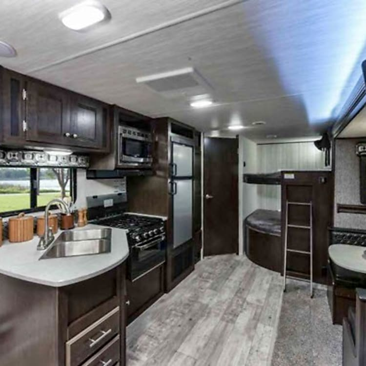 Inside our beautiful rv