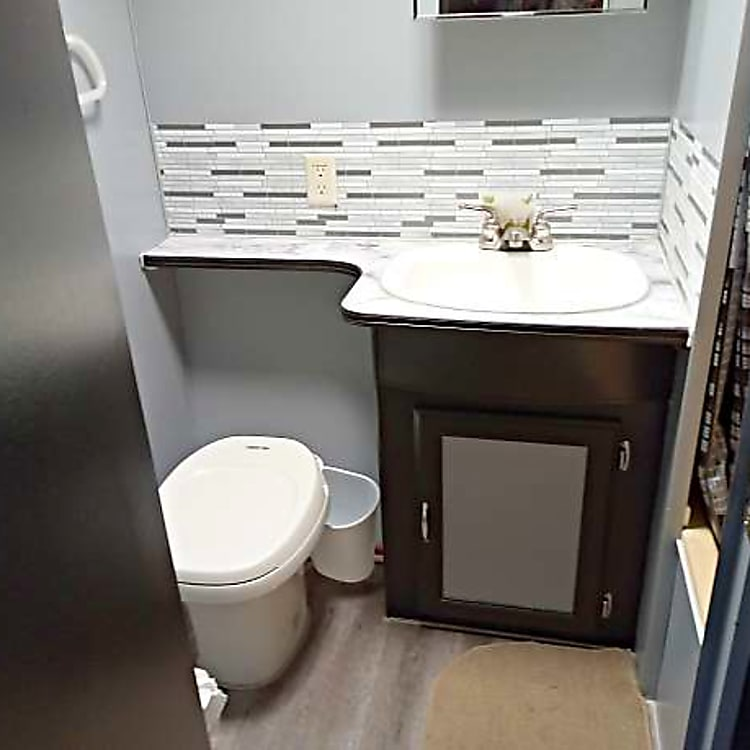 Bathroom with full shower and tub
