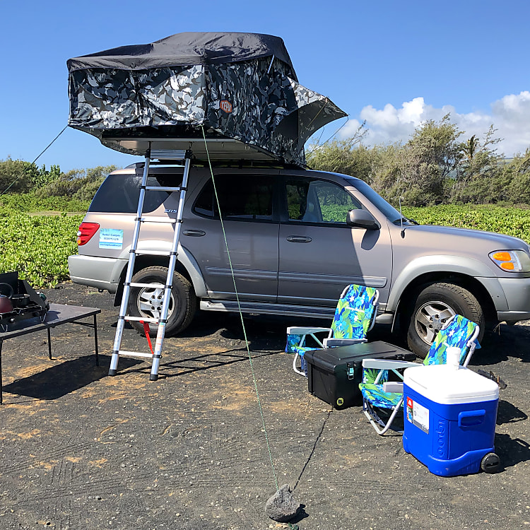 Fully equipped! Just provide your food and your sense of Aloha! You won't find a better camping adventure than the big island.