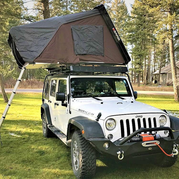 Explore Northwestern Montana in 2017 Jeep Rubicon.