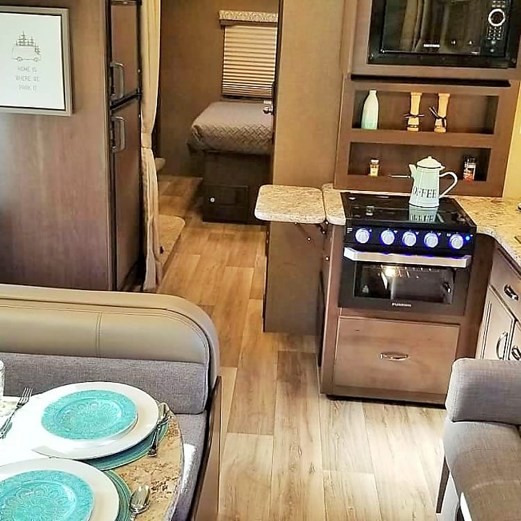Beautiful Clean interior