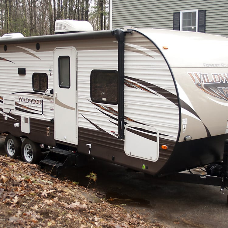 Exterior view of trailer.