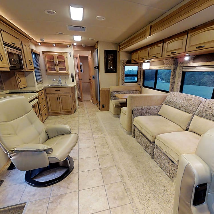 View Looking Towards The Back Of The RV.
