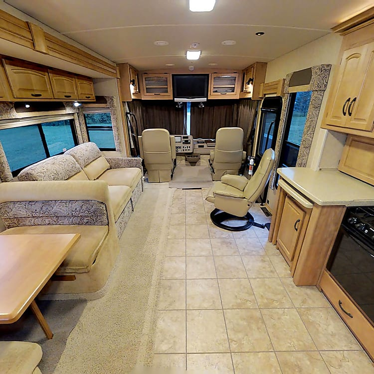 View Looking Towards The Front Of The RV