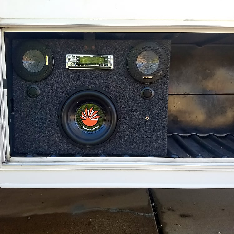 Outdoor Stereo with CD player