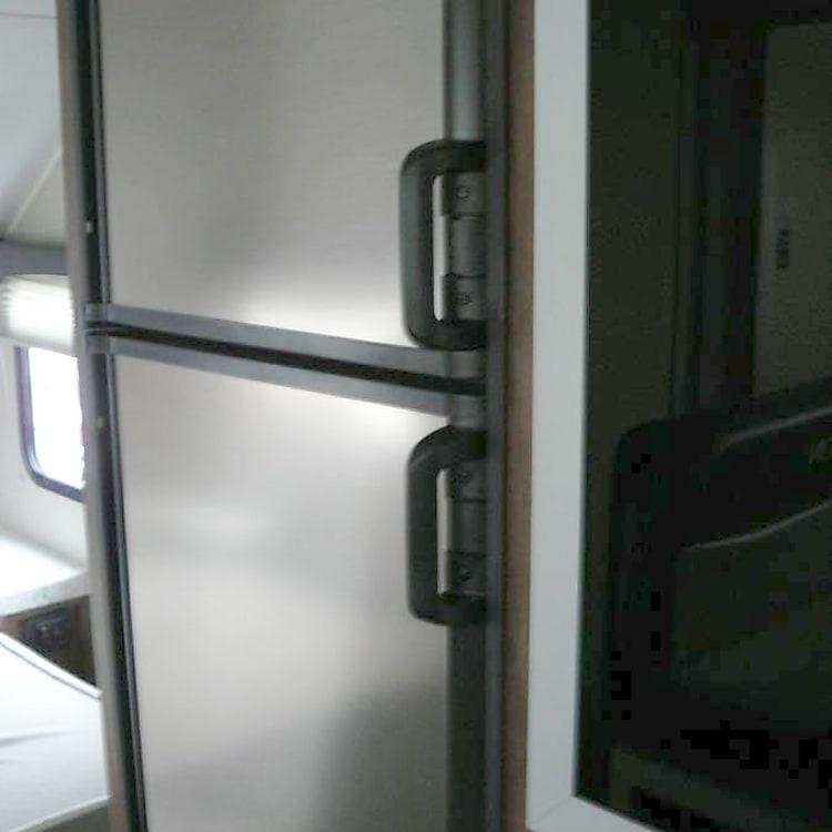 Large 2 door refrigerator.