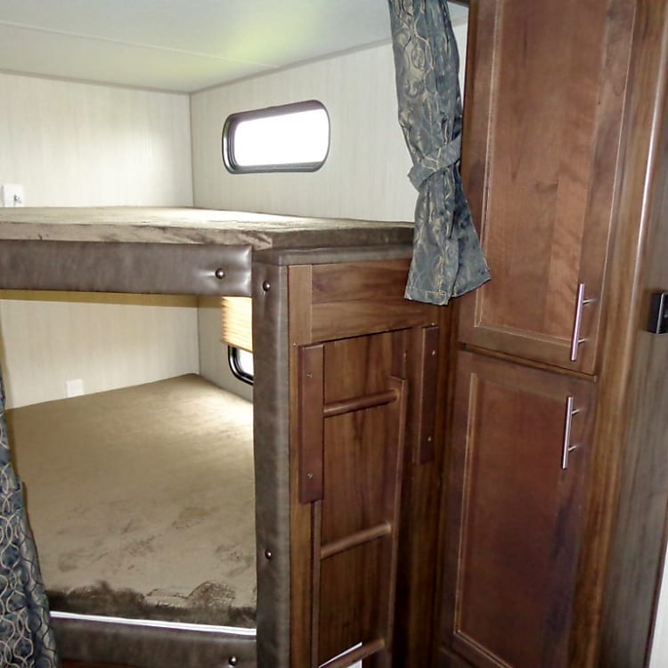 Double Bunks at Rear of RV